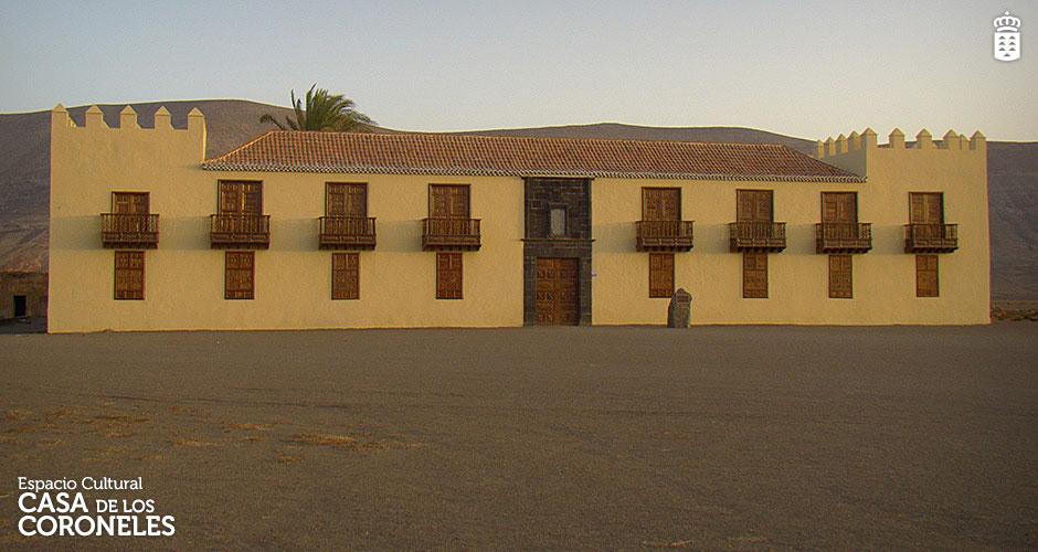 Casa de los Coroneles, en La Oliva