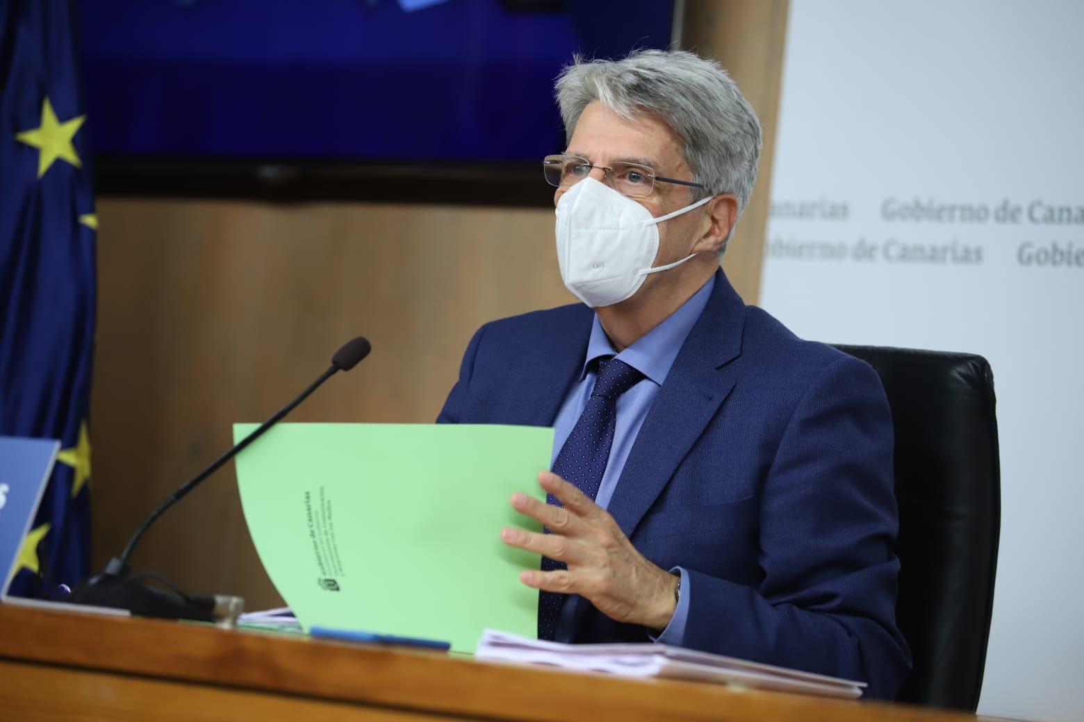 Rueda de prensa del Consejo de Gobierno de Canarias