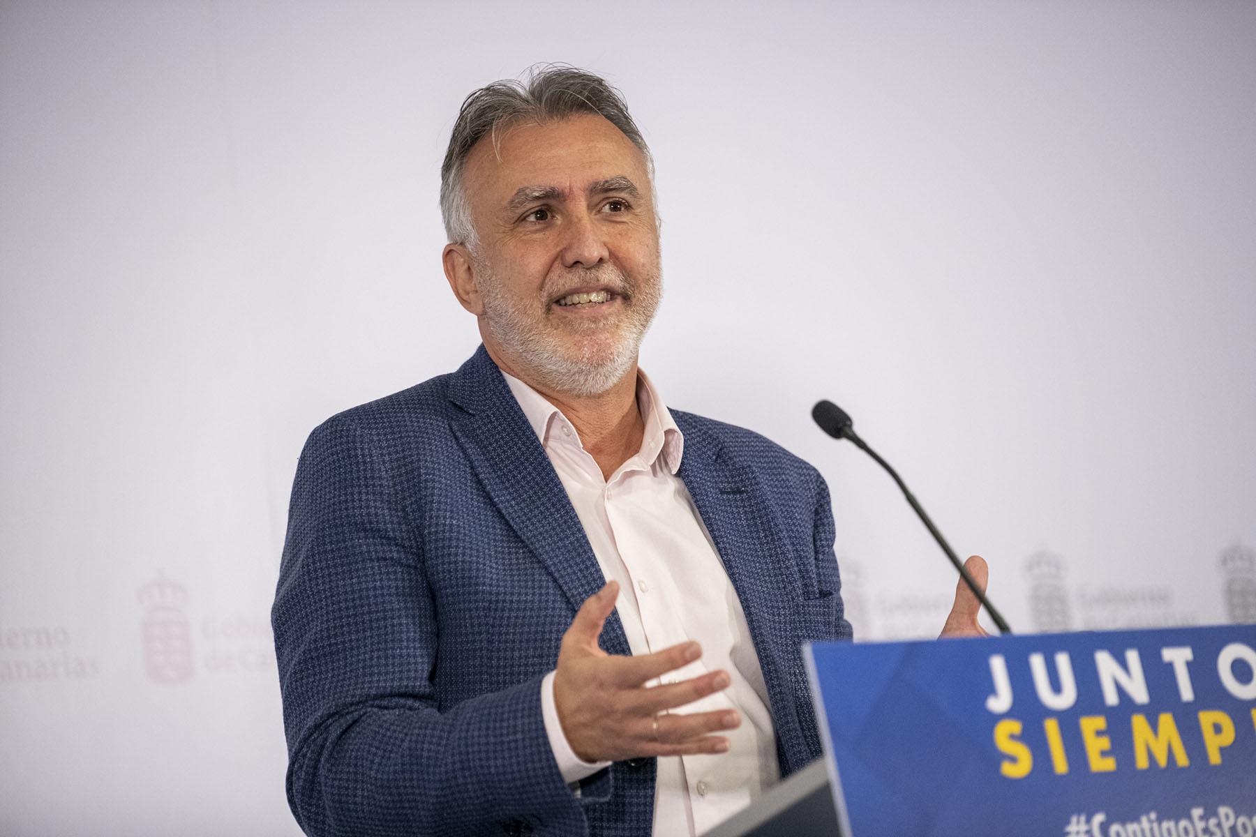 Comparecencia del presidente Ángel Víctor Torres