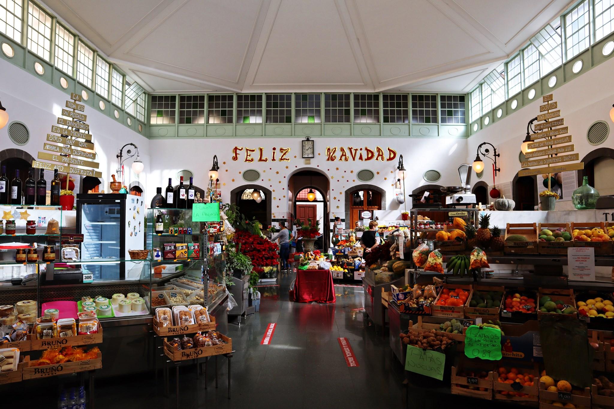 Mercado de La Recova de Santa Cruz de La Palma.