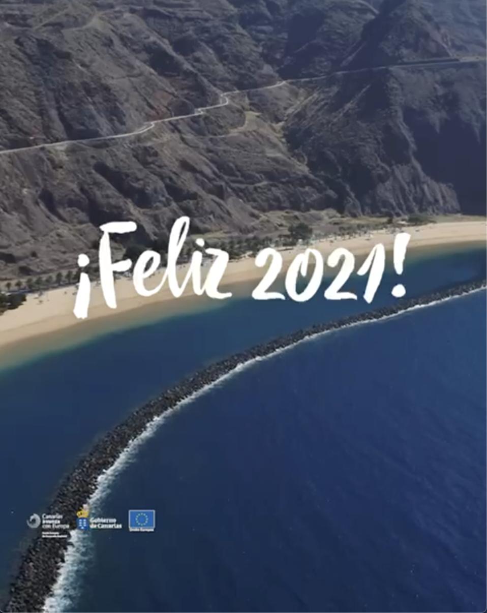 Pantallazo video felicitación 2021