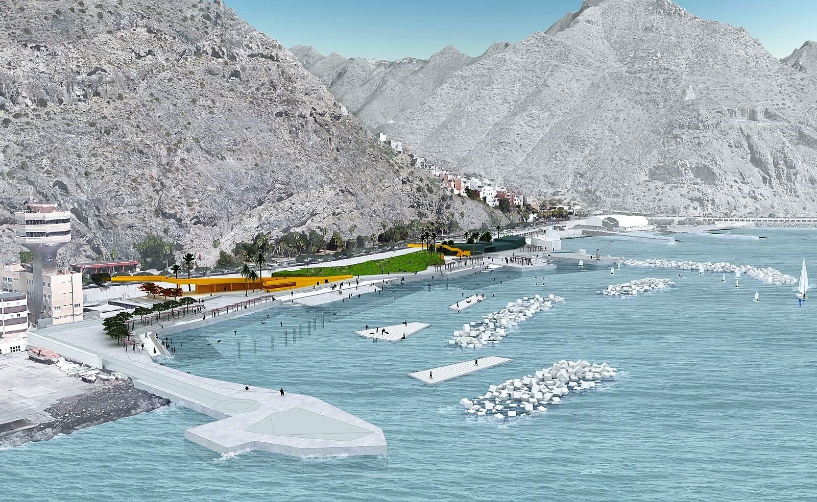 Infografía del proyecto litoral de Valleseco