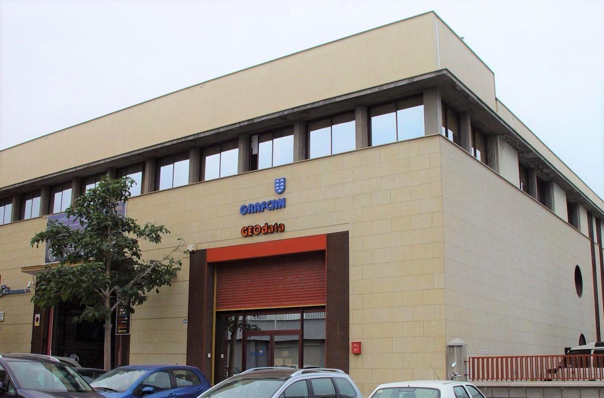 Oficina de la empresa pública Grafcan