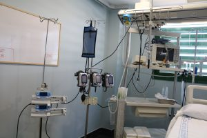 UCI creada en la Unidad de Reanimación Postquirúrgica del Hospital.