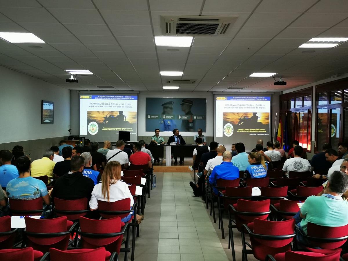 Aulas de formacion de la Dirección General de Seguridad y Emergencias