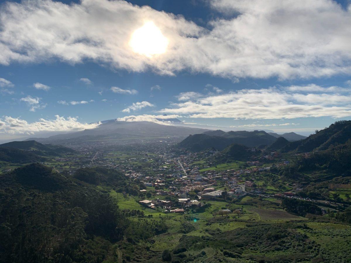 Panorámica del municipio tinerfeño de La Laguna