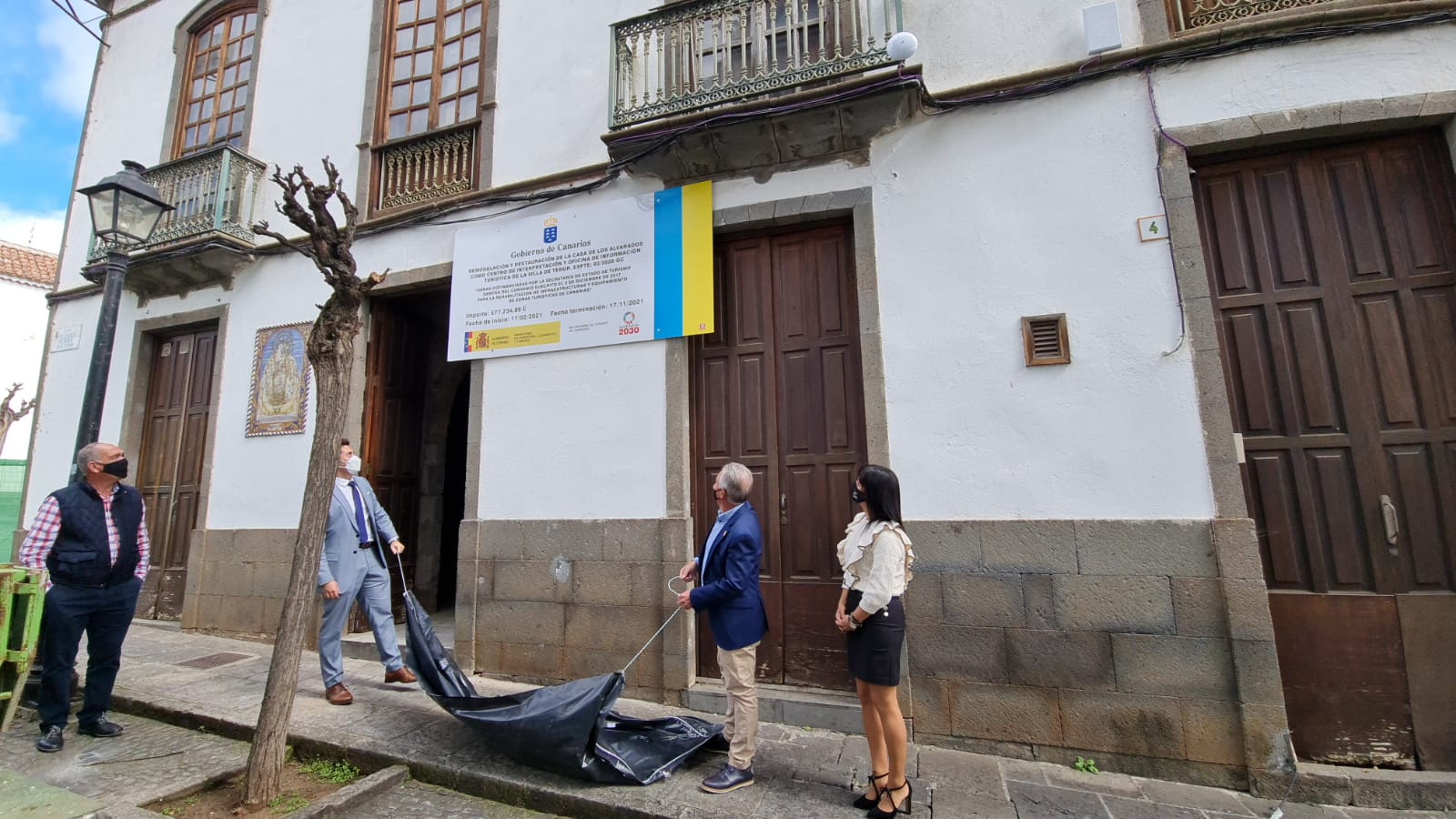 Turismo de Canarias convertirá la Casa de los Alvarado de Teror en un centro de interpretación