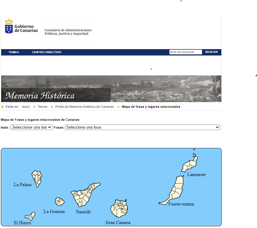 Canarias contará con un protocolo de exhumación de restos de desaparecidos en la guerra civil y la represión franquista