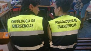 Psicólogos en el hotel en cuarentena.