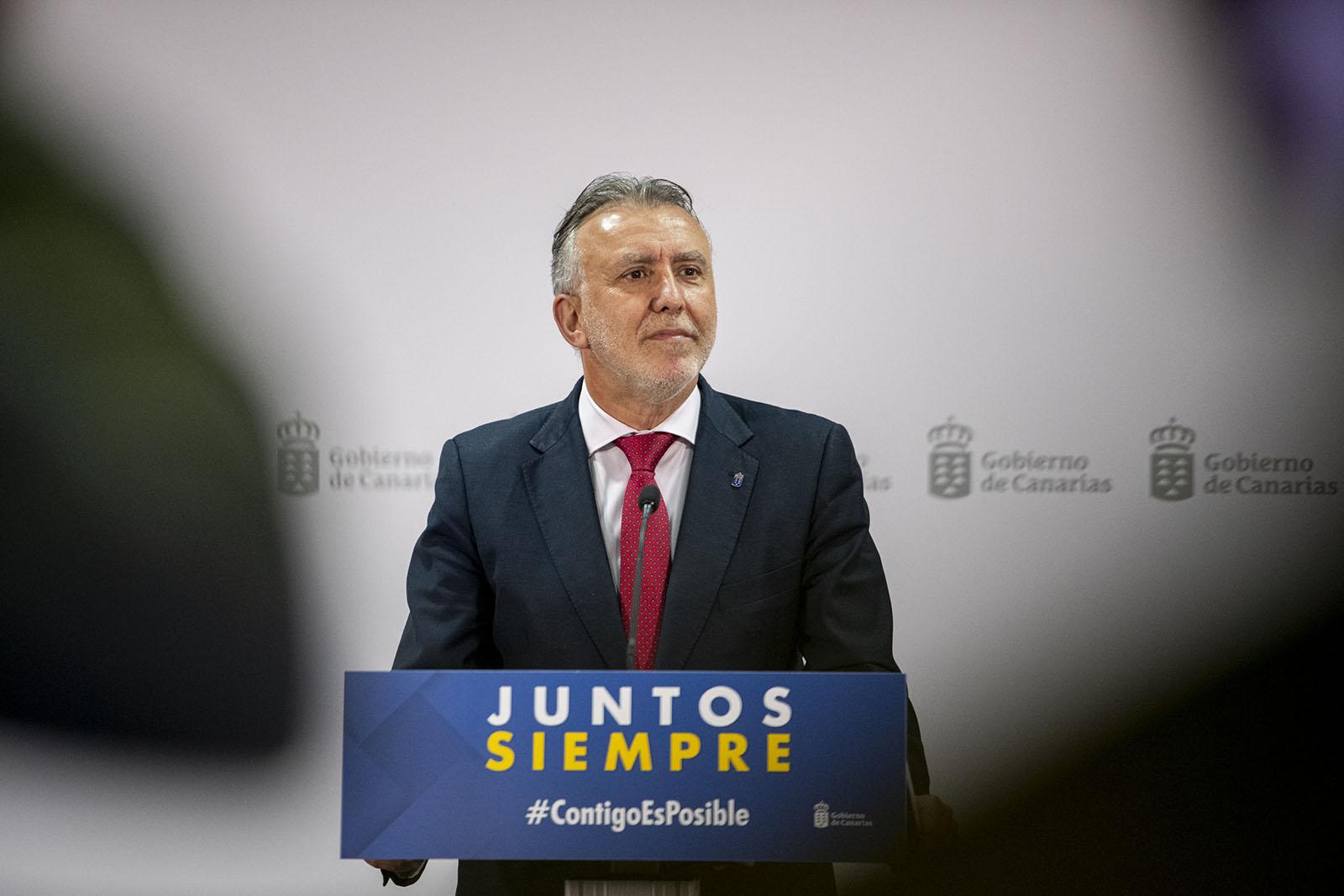 Comparecencia Ángel Víctor Torres