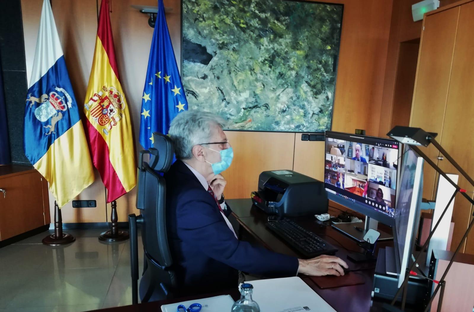 Julio Pérez destaca la unanimidad y concordia habidas en la Conferencia Sectorial de Memoria Histórica