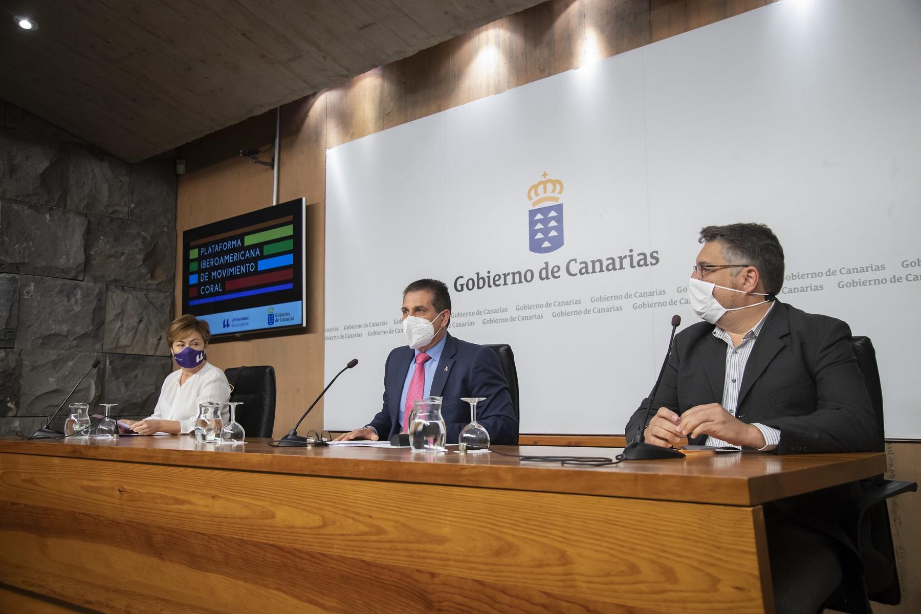 Canarias impulsa una plataforma para el encuentro del canto coral en toda Iberoamérica