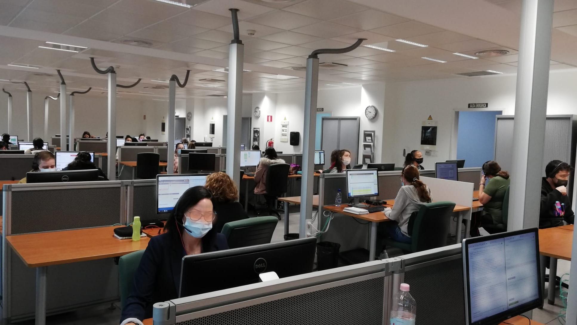 La Covid-19 genera un aumento de servicios, duración de las llamadas y gasto del 012