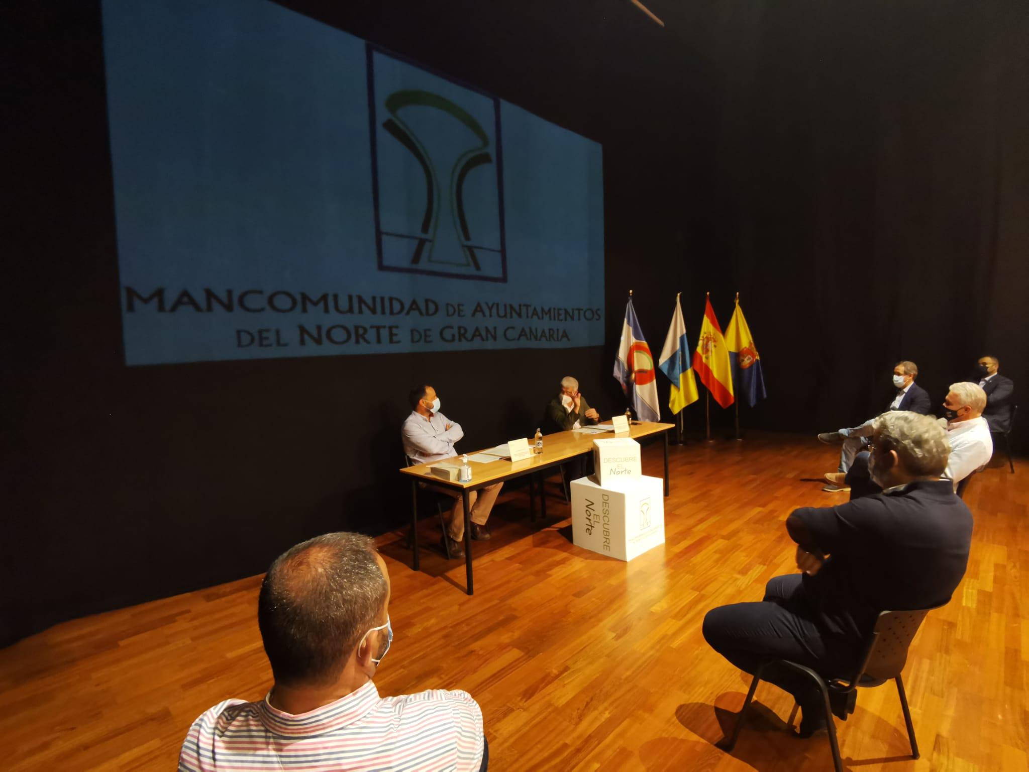 Turismo impulsa con la Mancomunidad de Ayuntamientos del Norte de Gran Canaria el Camino de Santiago Entre Volcanes