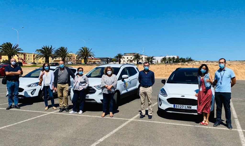 El Área de Salud de Fuerteventura incorpora tres vehículos para los técnicos inspectores de Salud Pública