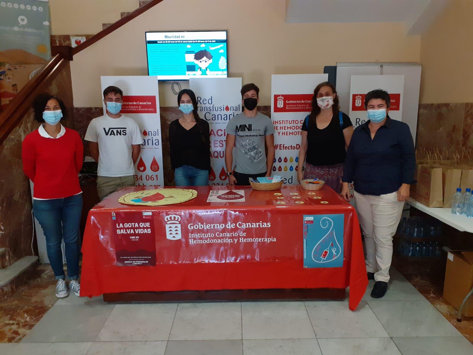 El ICHH y el colegio Las Teresianas organizan una colecta para fomentar la donación de sangre