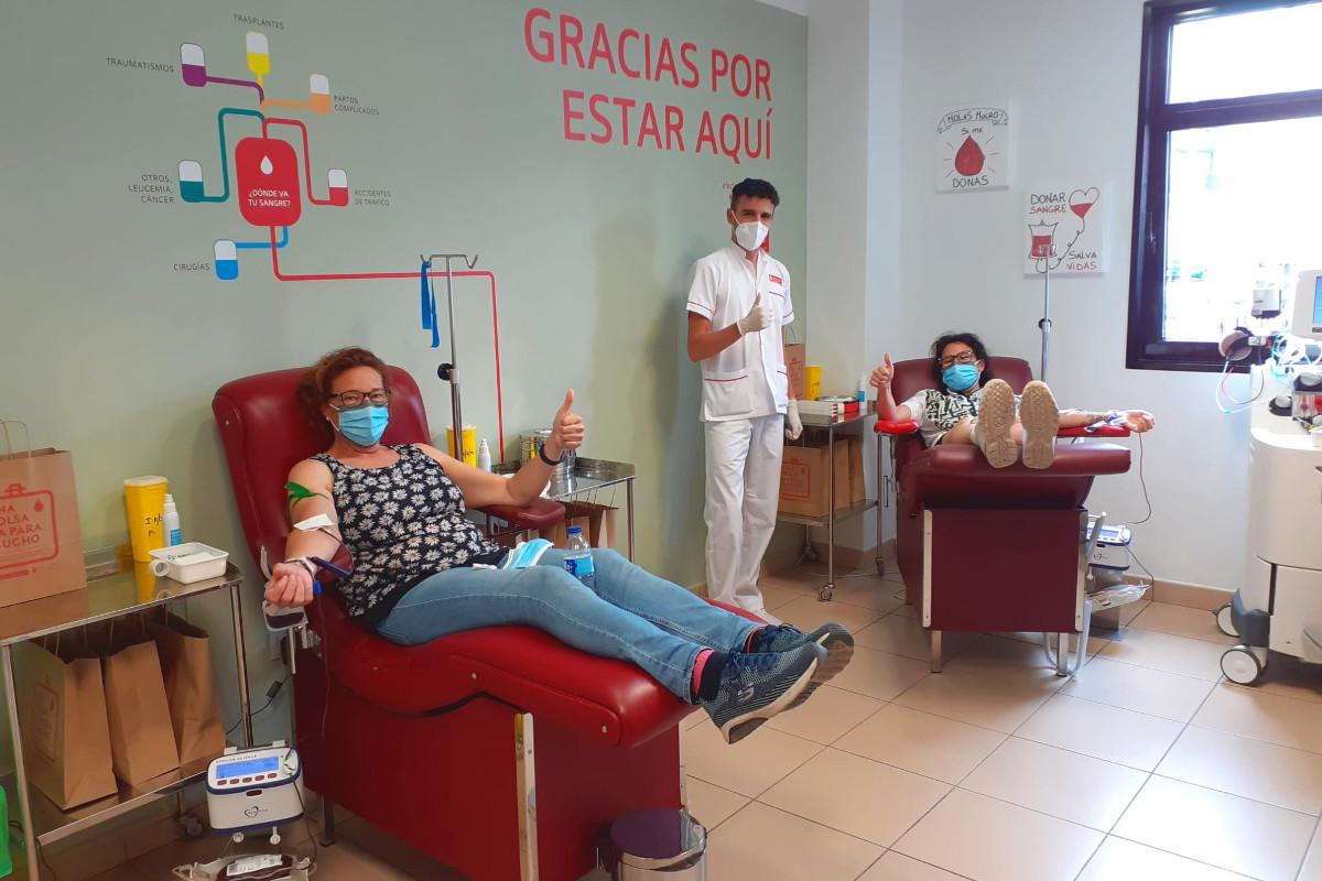 El ICHH comienza una nueva campaña de donación de sangre en el municipio de Los Silos