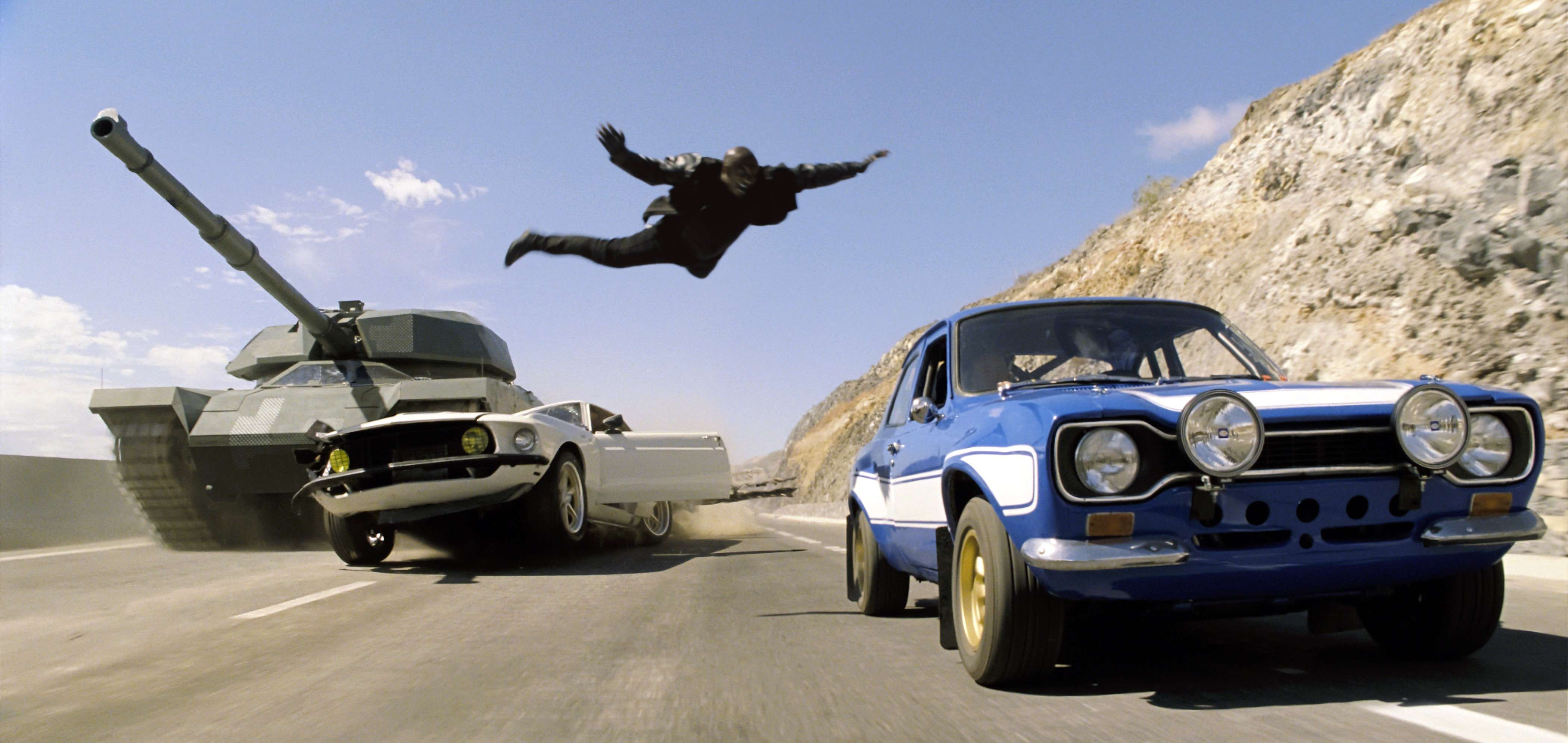 Rodaje 'Fast & Furious 6' en Canarias. Imagen cortesía de Universal Pictures