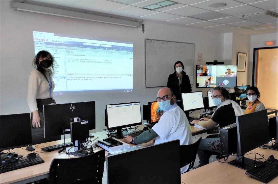 El HUNSC forma a profesionales en el uso de software que analiza los datos para optimizar la gestión asistencial