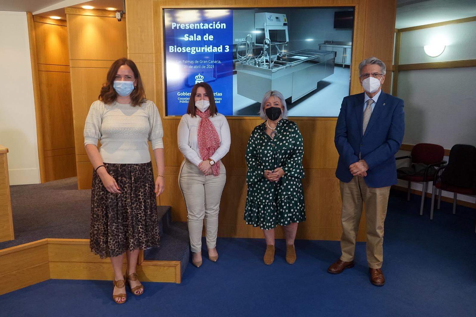 Canarias dispone ya de la primera sala de bioseguridad para autopsias por Covid y otras causas infecciosas
