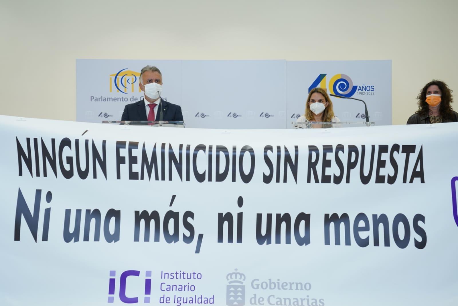 DEl Gobierno de Canarias condena el último feminicidio en Las Palmas de Gran Canaria