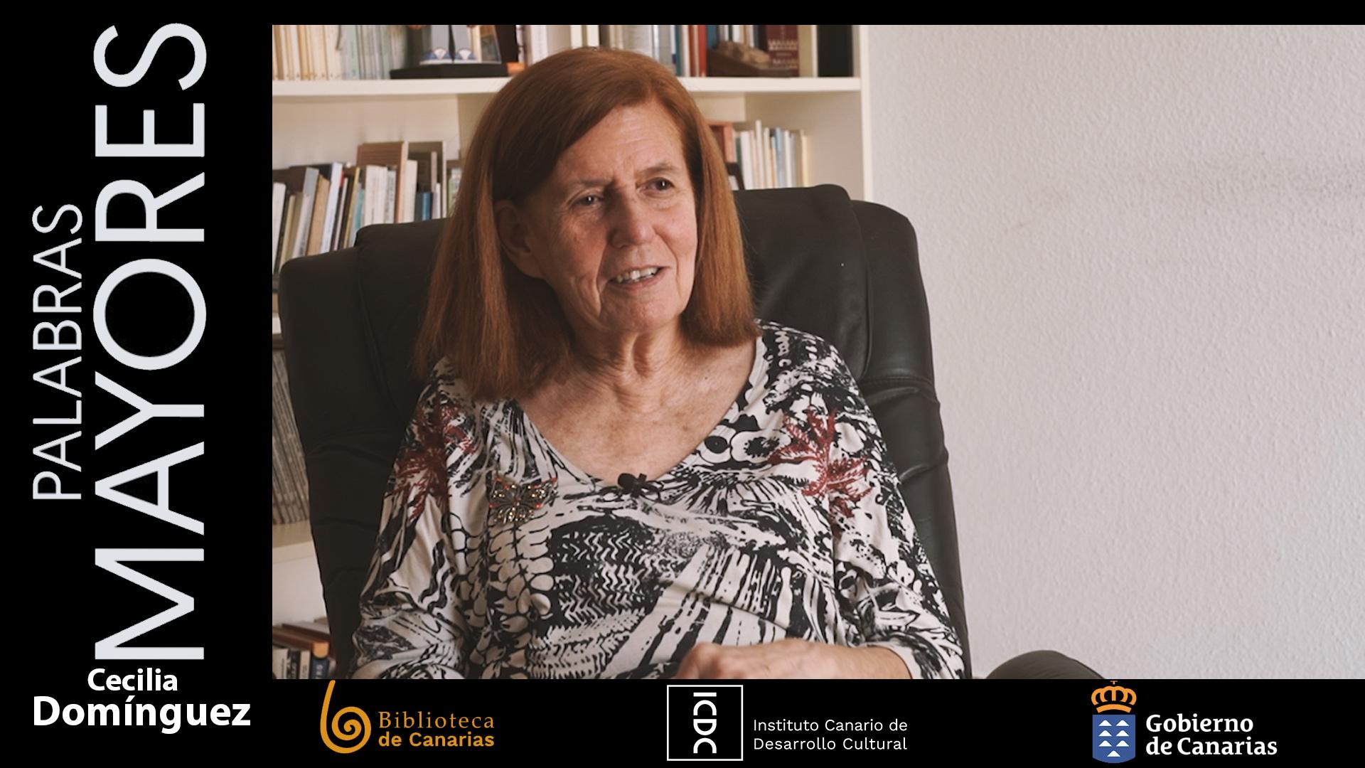 Palabras mayores: Cecilia Domínguez Luis