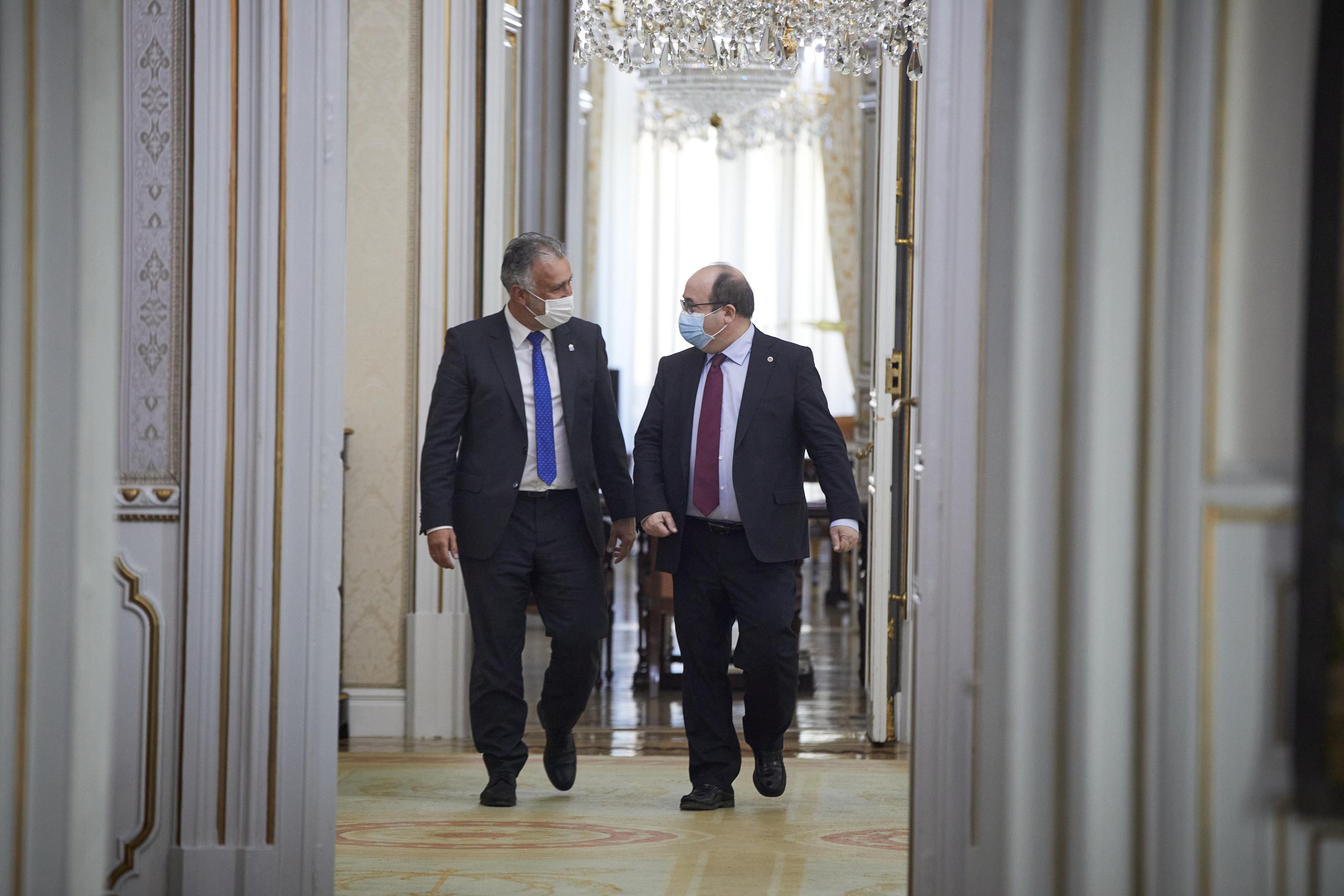 Ángel Víctor Torres y Miquel Iceta
