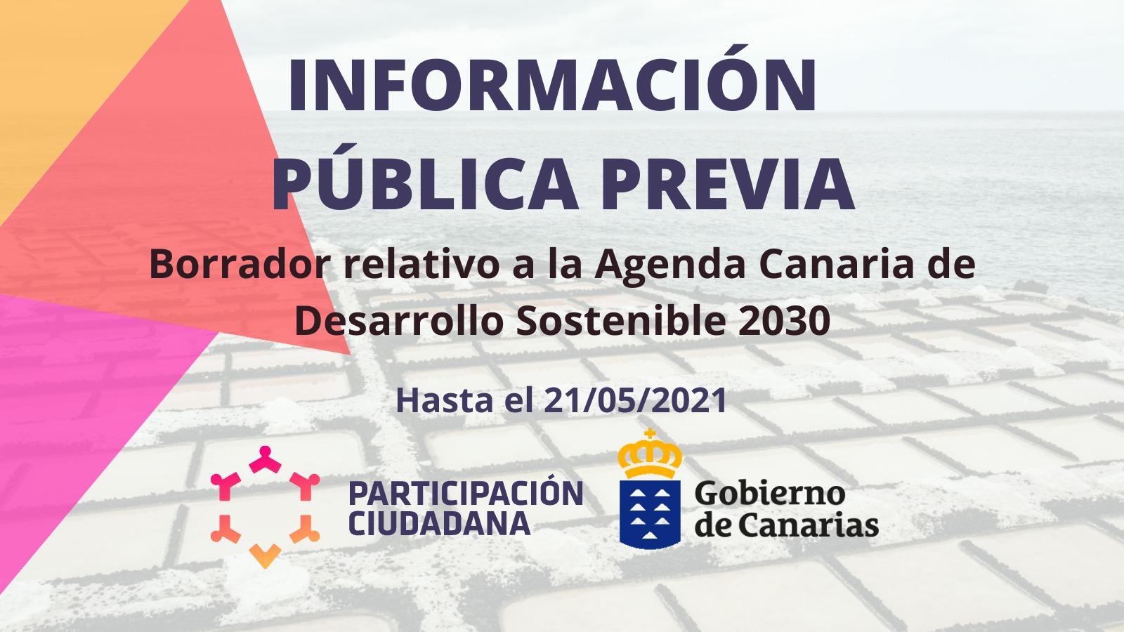 Agenda Canaria de Desarrollo Sostenible 2030