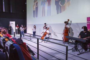Actuación de Barrios Orquestados en el Día Internacional de la Familia