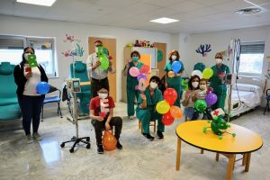 Actividad en el Hospital Universitario Nuestra Señora de Candelaria