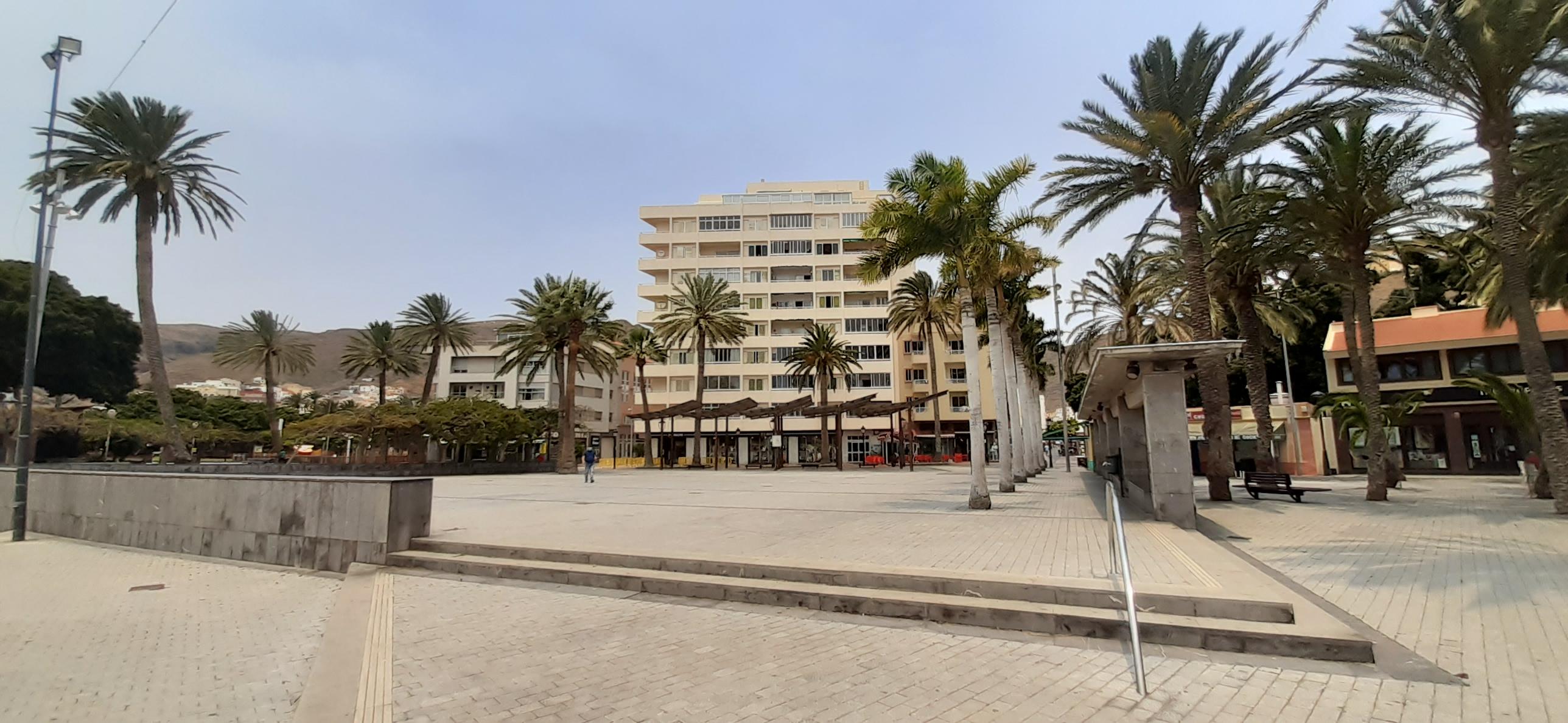 Plaza de Las Américas en San Sebastián de La Gomera.