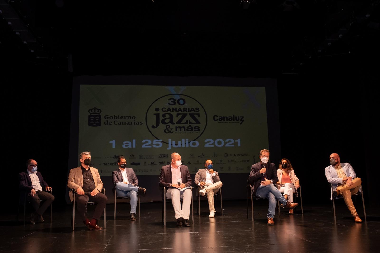 Presentación Festival Canarias Jazz y Mas 2021