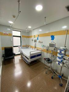 Sala de atención pediátrica en Urgencias.