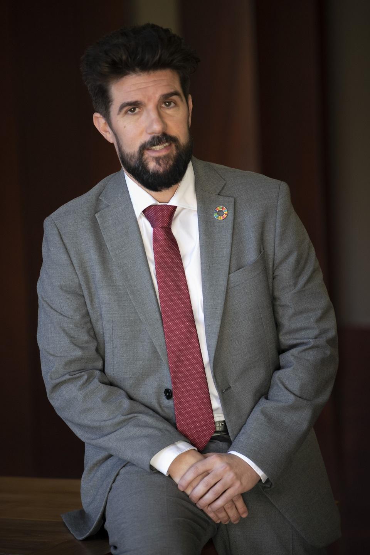 David Padrón, director general de Investigación y Coordinación del Desarrollo Sostenible