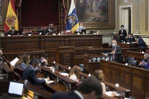 Ángel Víctor Torres en su intervención parlamentaria