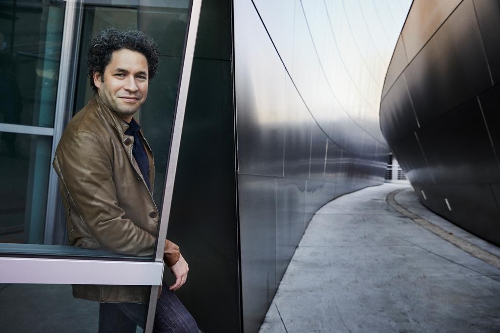 Gustavo Dudamel credit Danny Clinch for LA Phil