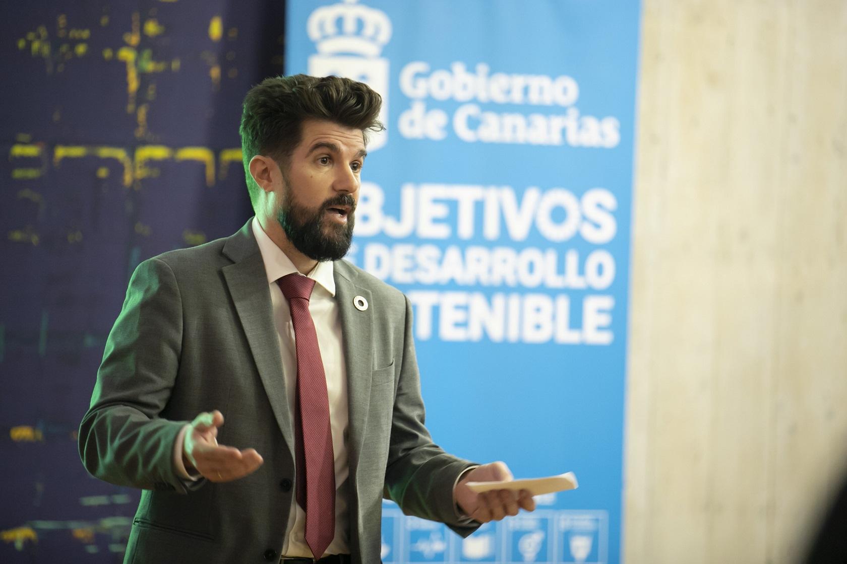 David Padrón, director general de Investigación y Coordinación del Desarrollo Sostenible del Gobierno de Canarias.