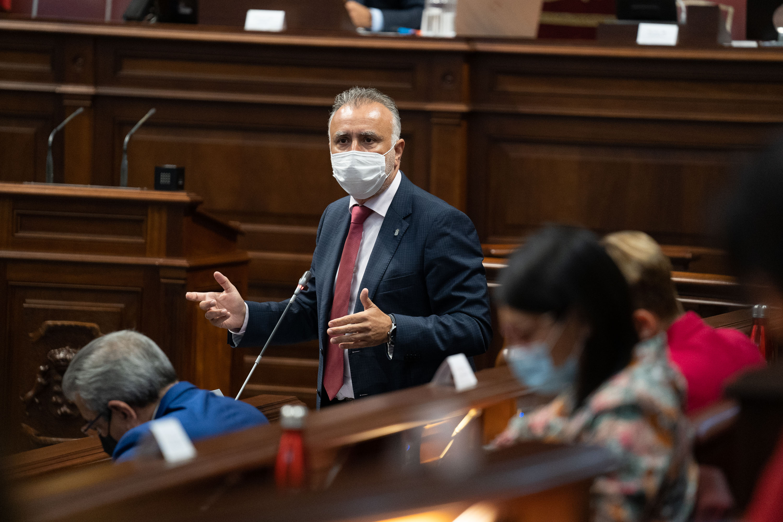 Parlamento de Canarias - Ángel Víctor Torres