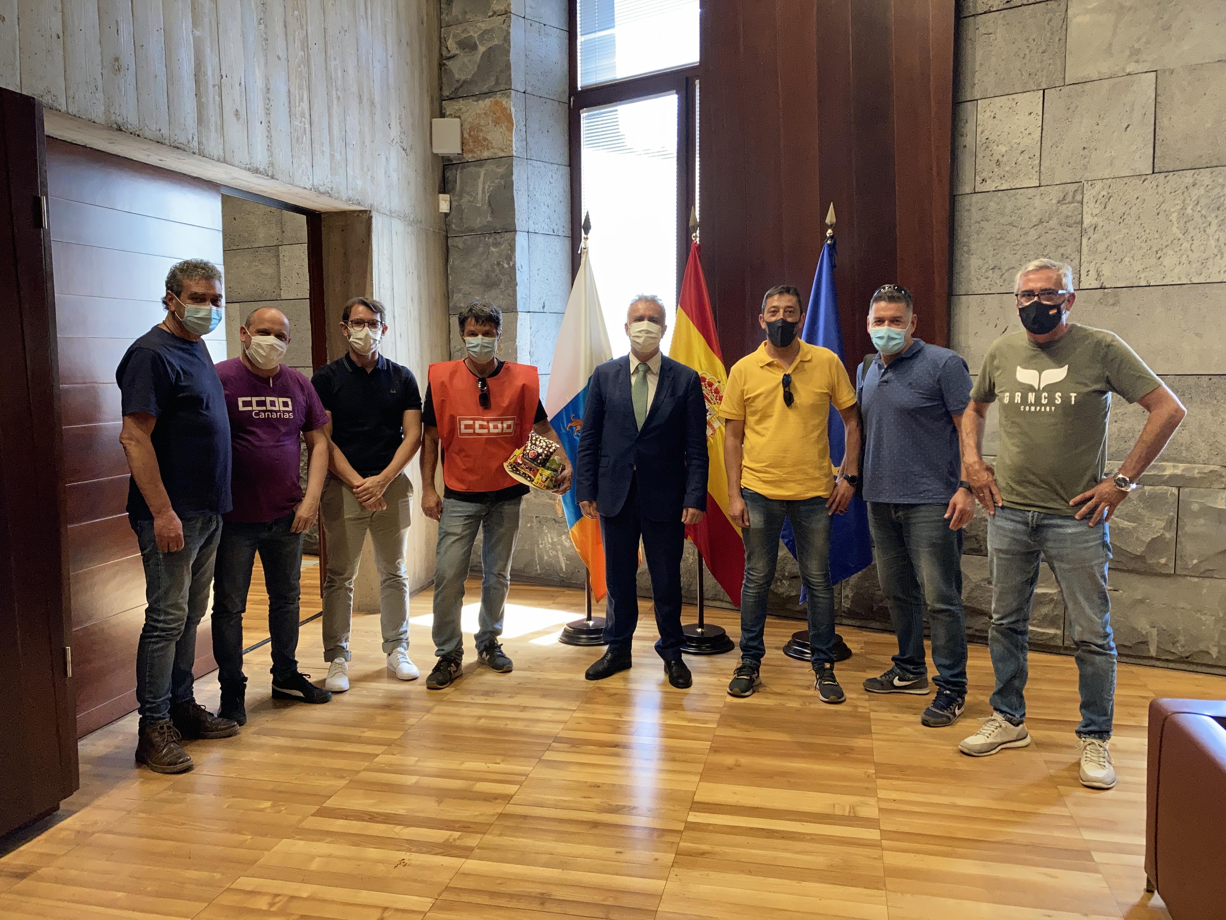 Imagen de los asistentes a la reunión de hoy