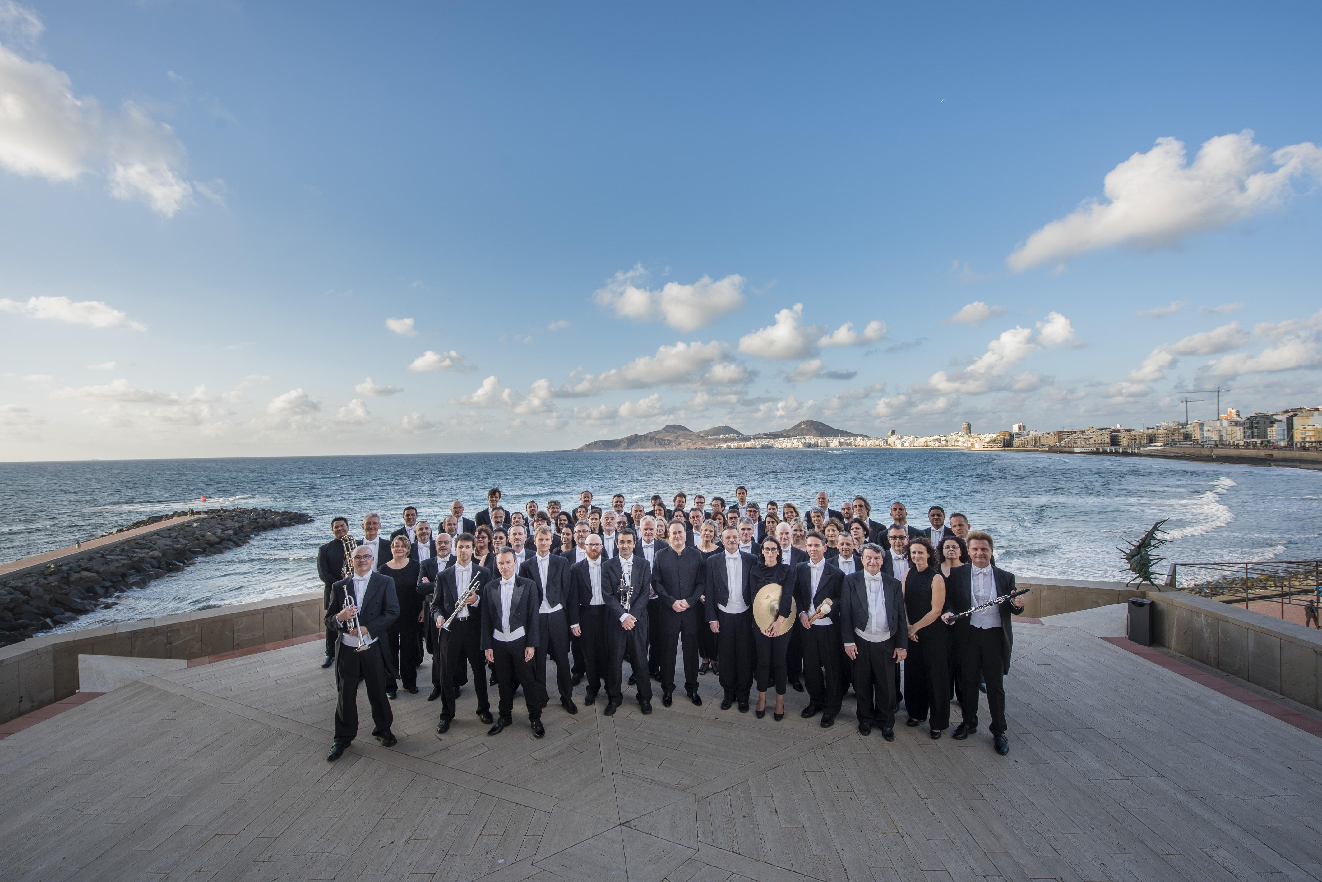 Orquesta Filarmónica de Gran Canaria (OFGC). C Nacho González