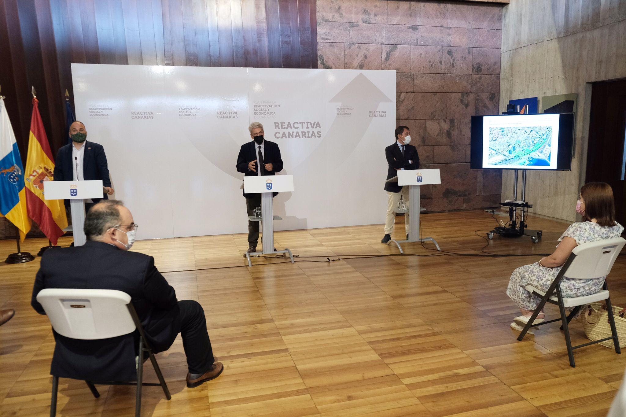 El Gobierno inicia los trámites urbanísticos para construir el Palacio de Justicia de Santa Cruz de Tenerife