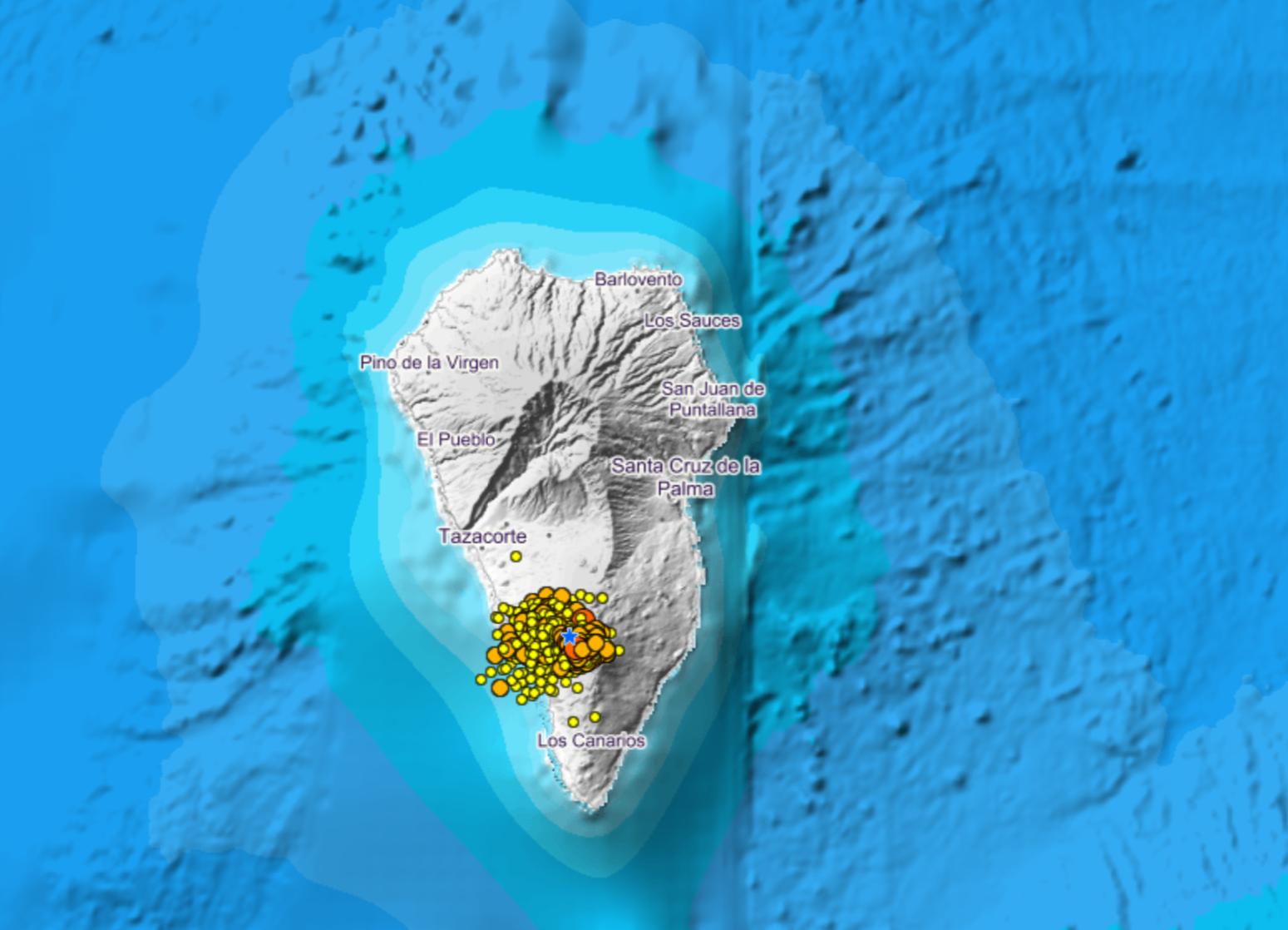 IGN - Actividad sísmica La Palma