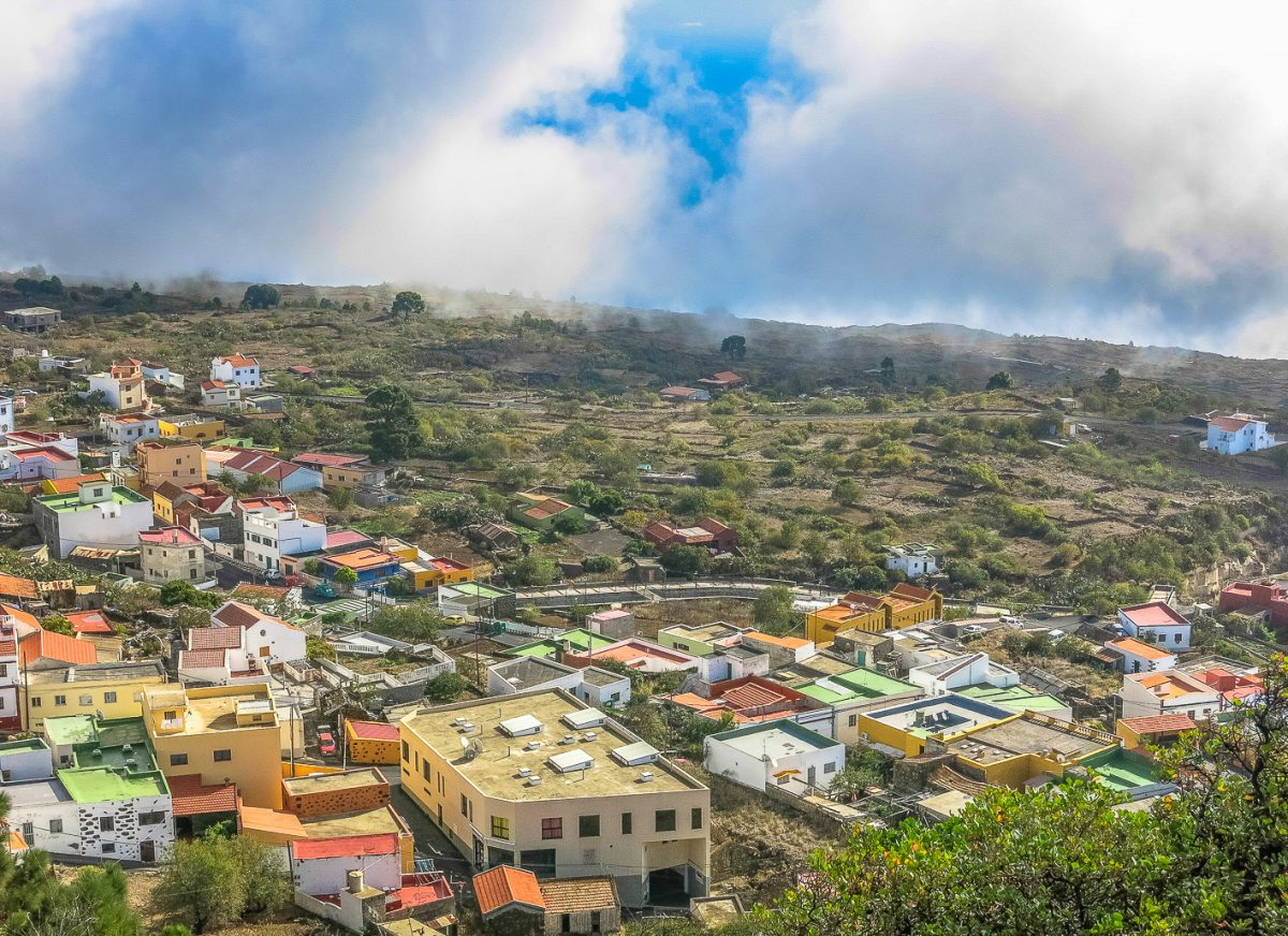 Vista general del municipio de El Pinar