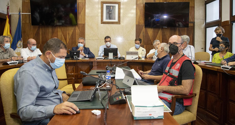 Comparecencia tras reunión del Comité Director del Pevolca