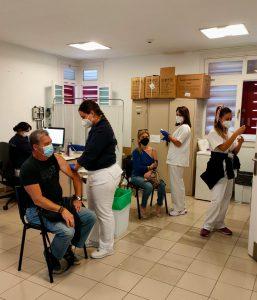 Vacunación en el CL de Garachico