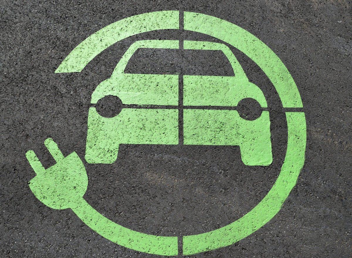 Logo vehículo sostenible