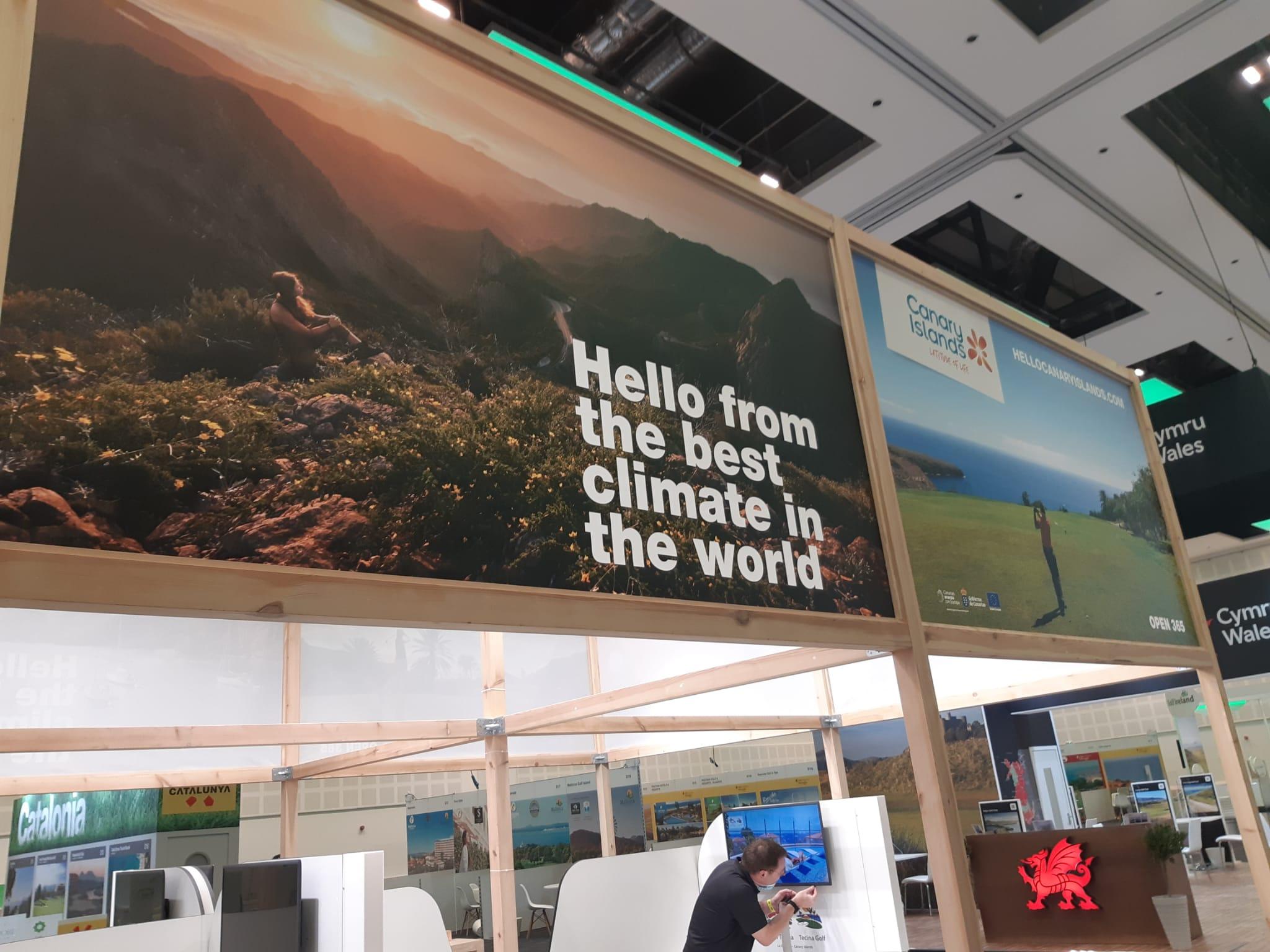 Islas Canarias participa en la feria más importante del segmento golf a nivel mundial