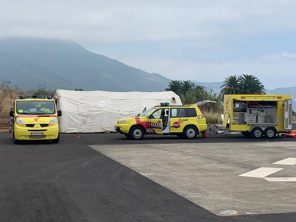 Equipamiento del SUC en La Palma