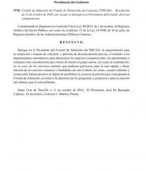 Resolución Comité Admisión