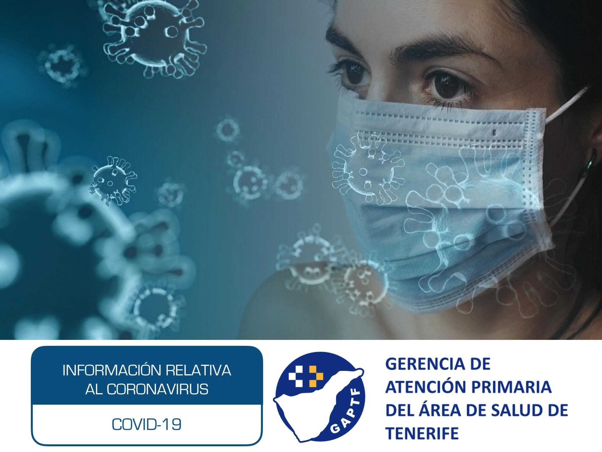Información relativa al Coronavirus, COVID-19